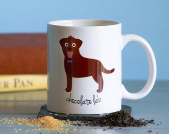 Chocolate Lab Mug (boy)
