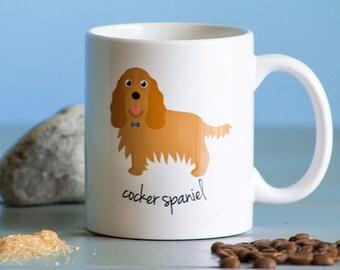 Cocker Spaniel Mug (boy)
