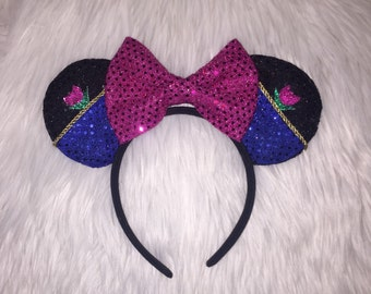 Anna Inspired Mouse Ears * Frozen Mouse Ears
