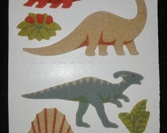 Vintage fuzzy sandylion sticker