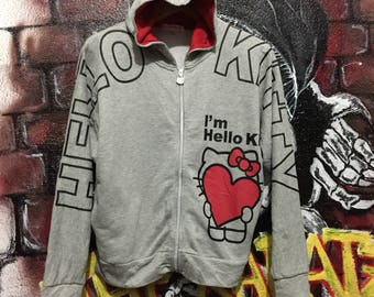 Hello Kitty Zipper Hoodie