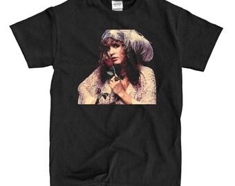Stevie Nicks Gypsy - Black T-shirt
