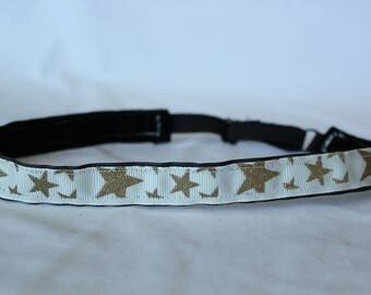 Gold Stars Headband