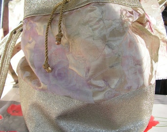 round purse bag brilliant and funny eyelets
