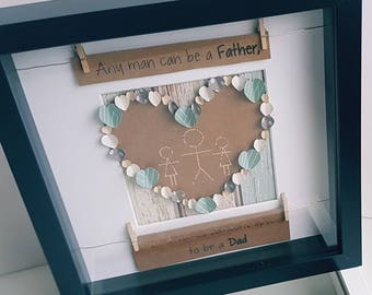 Father's Day Heart Frame