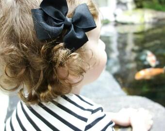 Simple Bow - Black