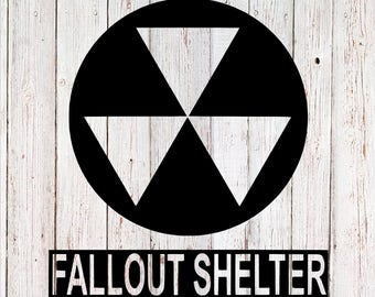 Fallout Shelter decal, Fallout Decal, Yeti decal, video game decal, tumbler decal, car decal, laptop decal, yeti sticker, gaming decal