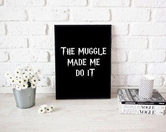 Harry Potter Bookshelf Painted