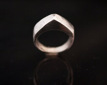 silver ring// hand made// 925 silver // man ring//woman ring//hipster ring//biker ring//free shipping