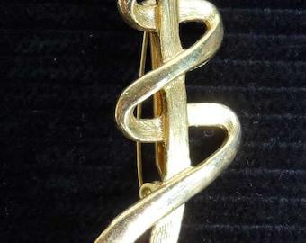 Goldtone Vintage Brooch Pin