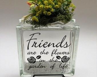 Handmade floral arrangement centerpiece home decor