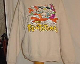 90's The Flintstones Sweatshirt XL