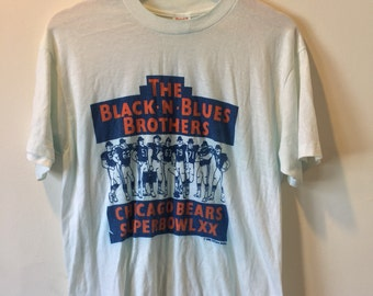 1985 Super Bowl XX Chicago Bears T-Shirt