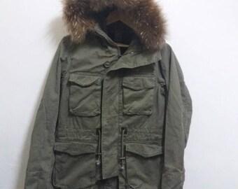 Vintage Parka army Journal standard pullover/Medium
