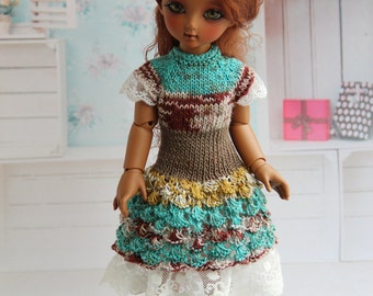 Knitted dress for BJD dolls - B.I.D. Iplehouse, Momocolor