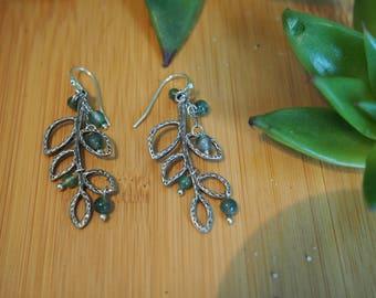 Olive Branch Earrings