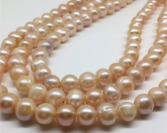 9-10mm Freshwater Pearl, Pink Pearl, Pearl Beads, Pearl Jewelry