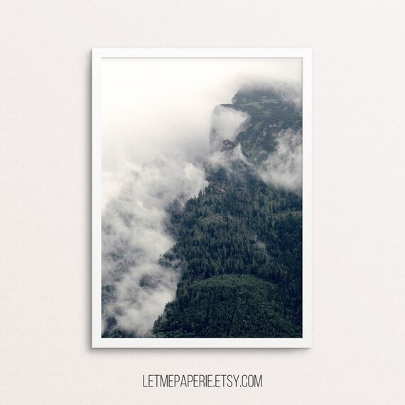 Forest Printable, mountain print, Forest Photography, Nature Wall Art, Forest Print, Nature Print, trees, Nature art, Forest photo, digital