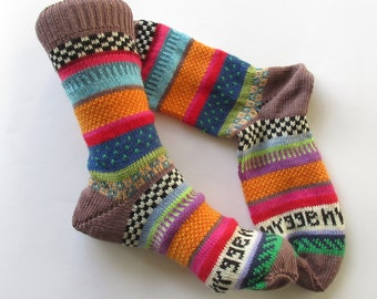 Colorful socks hygge 38/39