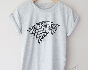 House Stark Shirt Game of Thrones Tumblr Hipster T-shirt Unisex S,M,L,XL Size