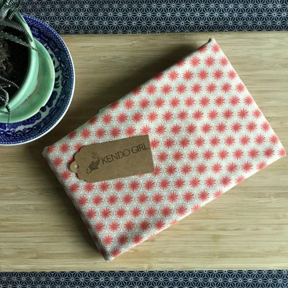 Furoshiki Gift Wrapping Cloth - Japanese Cotton Furoshiki - Bright Sunburst Design by Kendo Girl