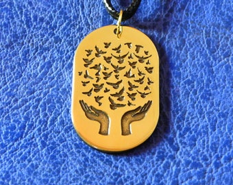 Symbol of Peace, Deep of the World, Palm of Amulet