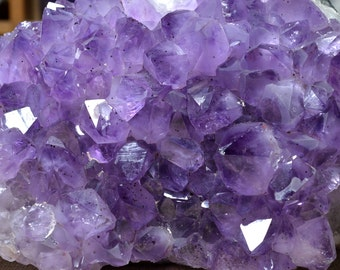 Best Natural Amethyst Cluster/Extra Large Amethyst cluster/specail gift-200*120mm 2140g-DZJC1001