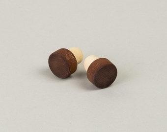 SALE! 30%  Wooden handlebar plugs - colours