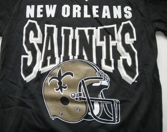 New Orleans Saints vintage nfl  printed t shirt by Garan made in the USA