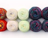 Caking Service for skeins or sock blanks for Rhapsodye Yarns