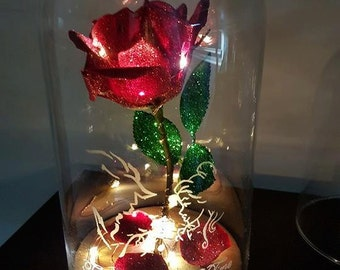 Items Similar To Beauty And The Beast Enchanted The