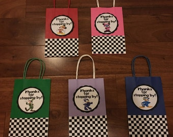 Mickey and the Roadster Racers Favor Bags