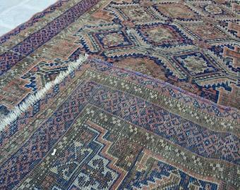 158 x 88 cm Antique Baluch Sistan rug