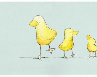 Three Ducks PRINT