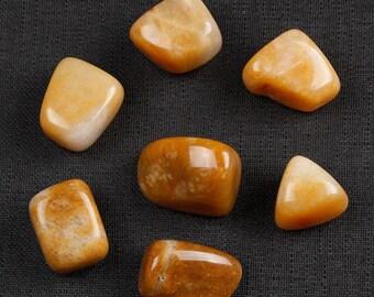 Yellow Jasper Tumbled Stones, Yellow Jasper Crystal, Jasper Stone, Tumbled Crystals, Yellow Jasper Stones, Jasper Tumbled Stones #YJTC7