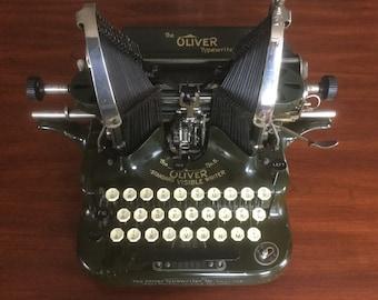 Antique Oliver # 5 Typewriter