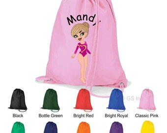 Personalised caricature gifts- gymsack