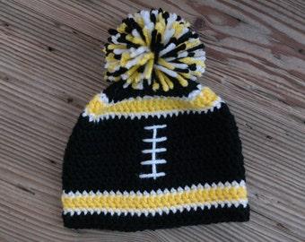 Crochet Baby Football Team Stealers Hat Beanie Halloween