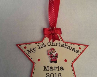 Baby First Christmas,  Keepsake,  Christmas decoration