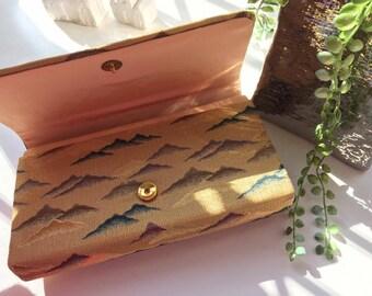 Japanese Gold Clutch Bag