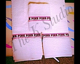 Custom 3 Piece Towel Set