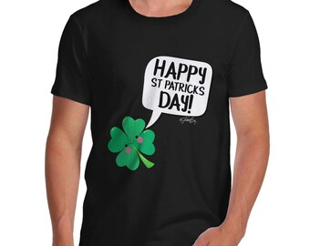 Cute Clover St Patrick's Day Men's T-Shirt