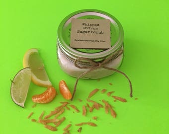 Whipped Citrus Sugar Scrub 8 oz.