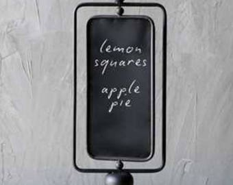 Chalkboard | Kitchen Chalkboard | Menu Board | Vintage Chalkboard | Farmhouse Decor | Kitchen Decor | Menu Chalkboard |