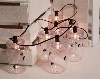 Mason Jar Firefly light string