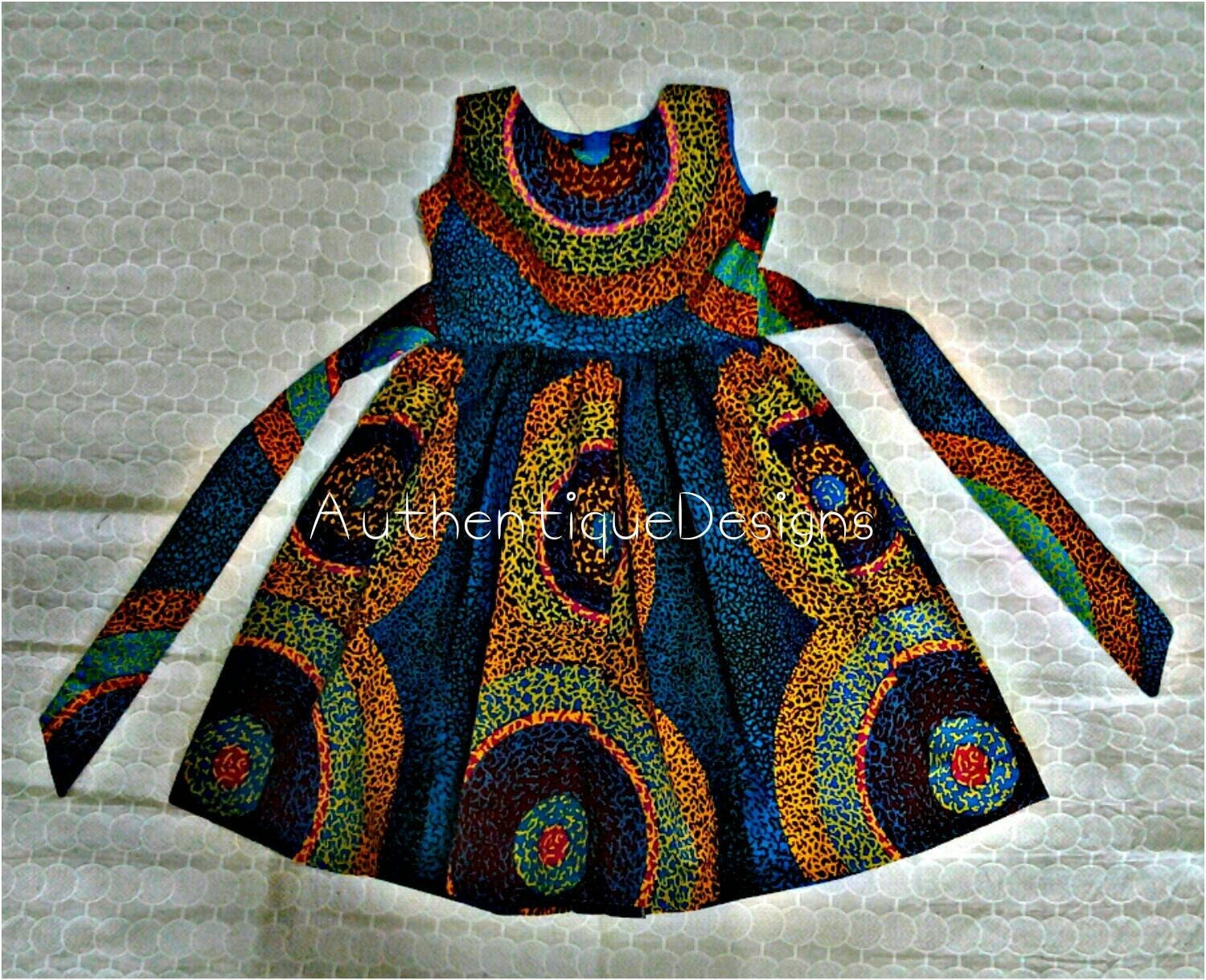 Christmas dress for baby - African Clothing African Girl Dress Ankara Dresses African Print Dress Dress For