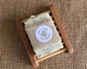 Soap and Soap Dish, Handmade Soap, Natural Soap, Soap Dish, UK, Soap Gift Set, Cold Process Soap, Luxury Soap, Gentle Soap, Soap Rack, Soap