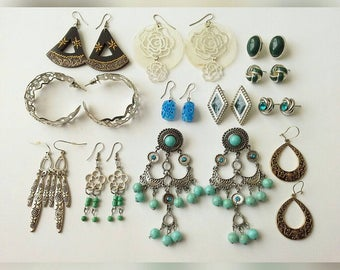 Clearance of different earrings! It is numbered from left to right