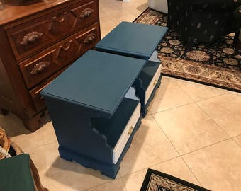 Upcycled nightstands or end tables