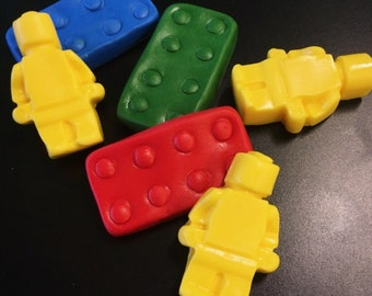 12 Lego Cupcake Toppers